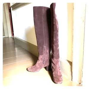 J. Crew Over the Knee Boots like new!